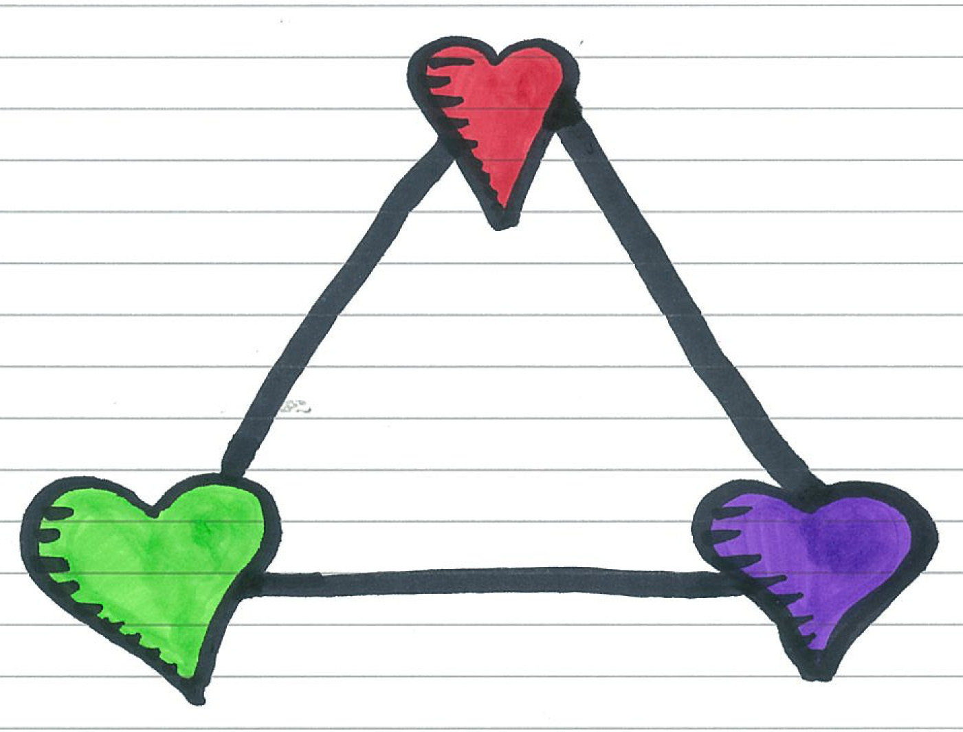 a love triangle Mary, percy, and harriet are not the only love triangle that made a lasting impact  on our culture five other triangles rocked the world.