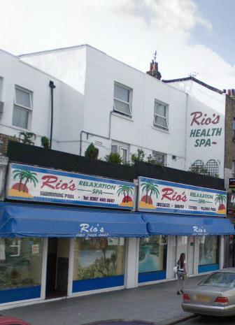 Rios spa kentish town