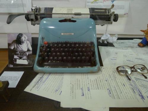 Jorge Amado's typewriter.