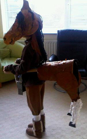 Wordl Book Day 2011 - War Horse side
