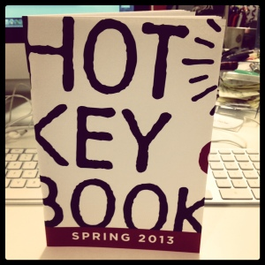 Hot Key Books' catalogue, ready to meet friends from all over the world.