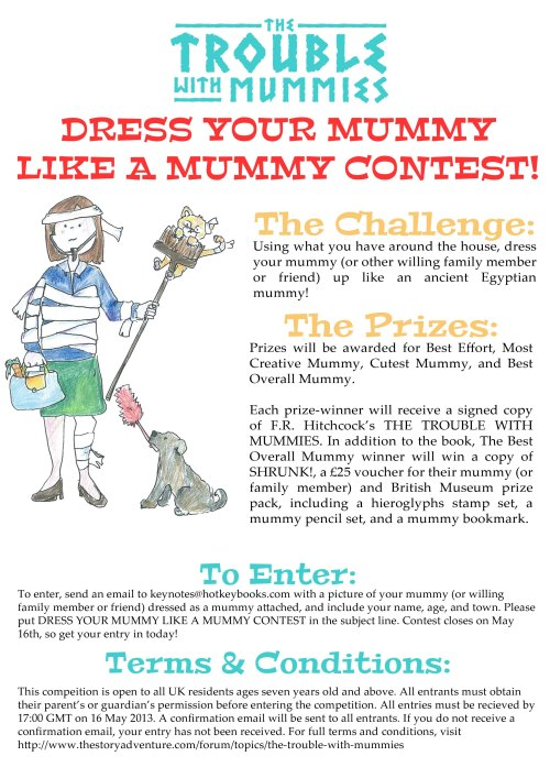 Dress Your Mummy Like A Mummy