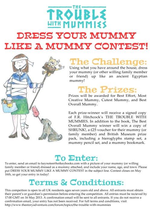 Dress Your Mummy Like A Mummy