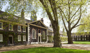 Exterior of the Geffrye Museum - photography Richard Davies