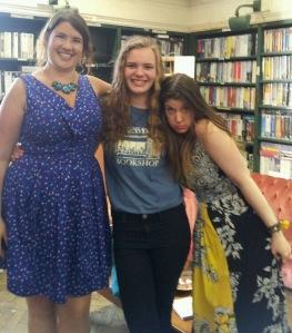 Sara Manning, me, and Maureen!
